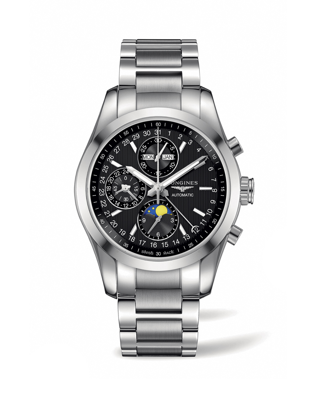 Longines Conquest Classic MoonPhase-1-2