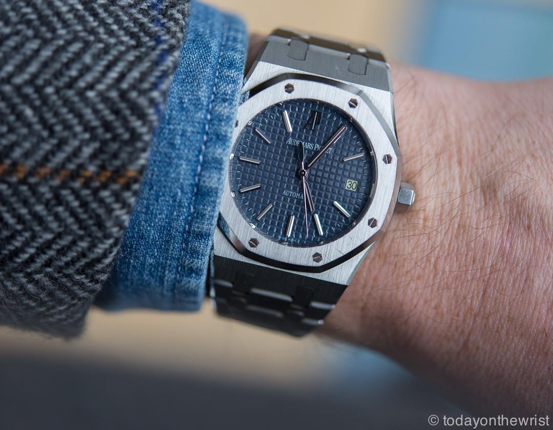 Audemars Piguet 15300 blue dial