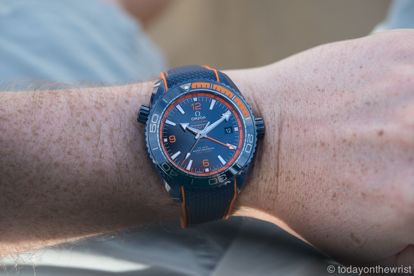 Omega Seamaster Planet Ocean 600m Big Blue