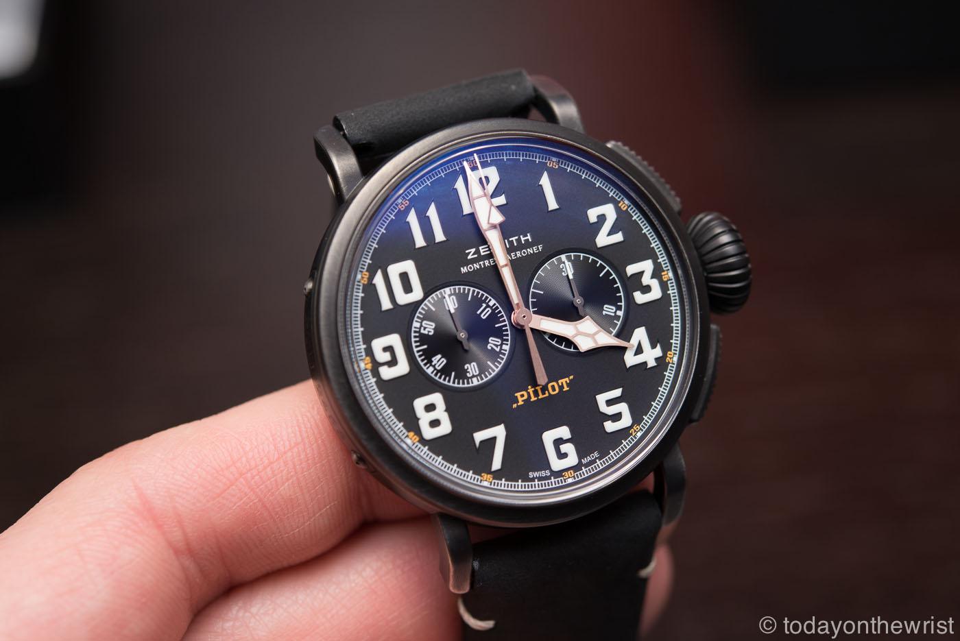 Zenith Pilot Type 20 Chronograph Ton Up Black