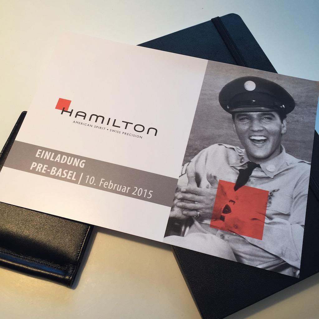 Hamilton Event Pre-Basel