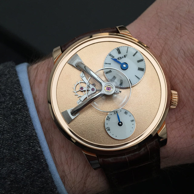 MB&F LM101 Frost