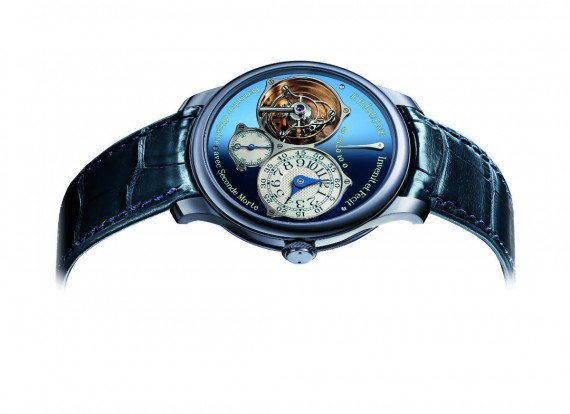 F.P.Journe Tourbillon Souverain Bleu ONLY WATCH 2015