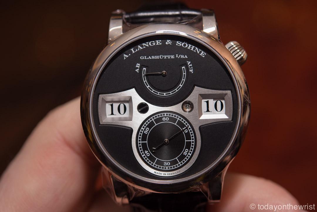 A. Lange & Söhne Zeitwerk - лучшие немецкие часы