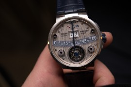 Baselworld 2016: Ulysse Nardin Grand Deck Marine Tourbillon