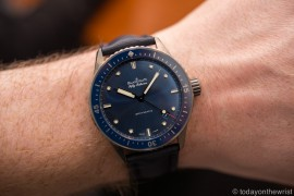 Baselworld 2016: Blancpain Fifty Fathoms Bathyscaphe