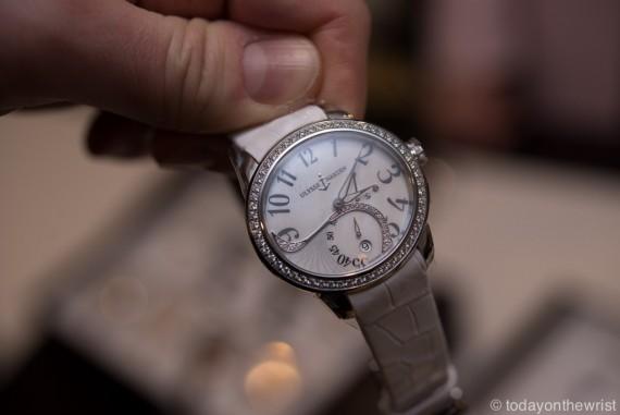 Ulysse Nardin Jade в стальном корпусе - женские часы