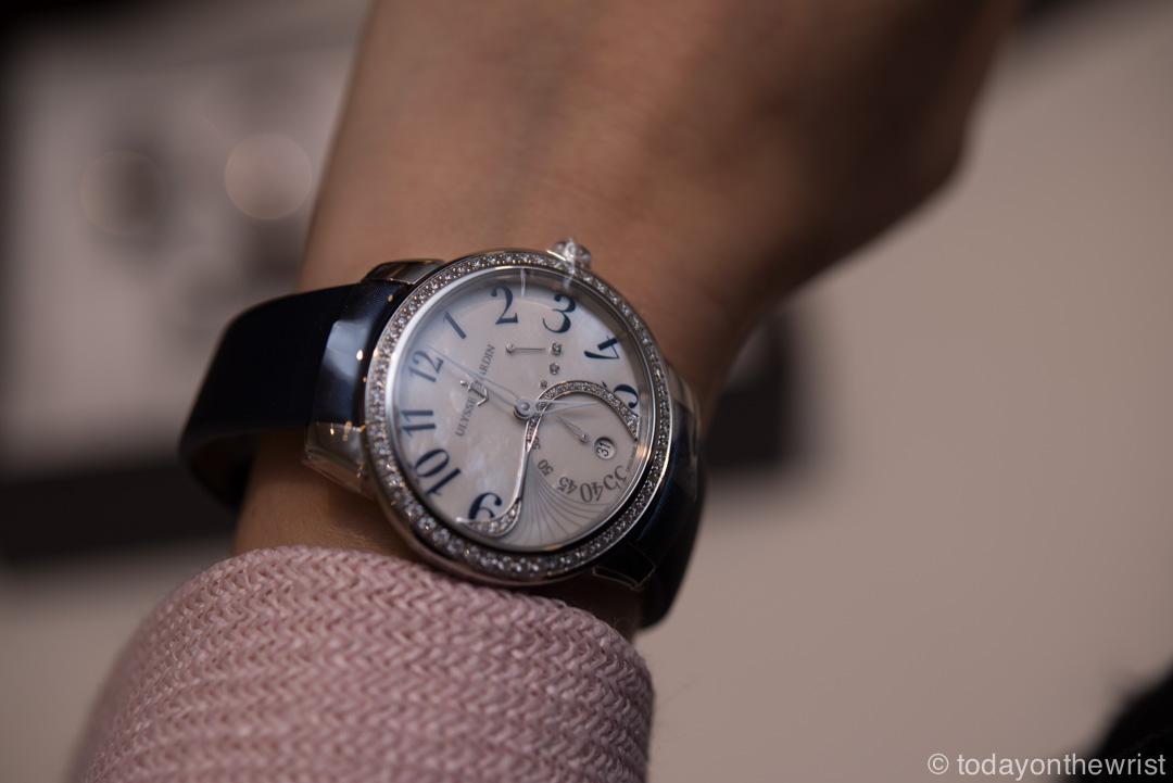 Женские часы Ulysse Nardin Jade в стальном корпусе