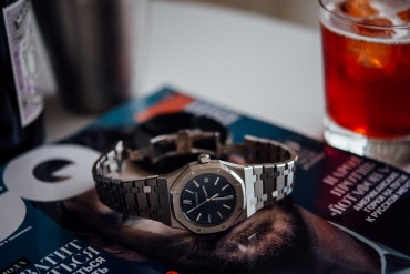Audemars Piguet Royal Oak 15300 синий циферблат
