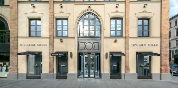 Открытие бутика Richard Mille в Мюнхене