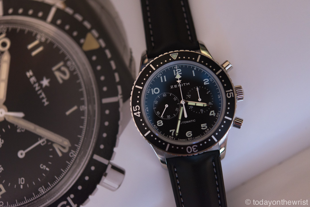 Zenith Heritage Cronometro TIPO CP-2 - сегодня на запястье