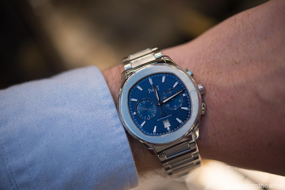 piaget polo s chronograph на munichtime