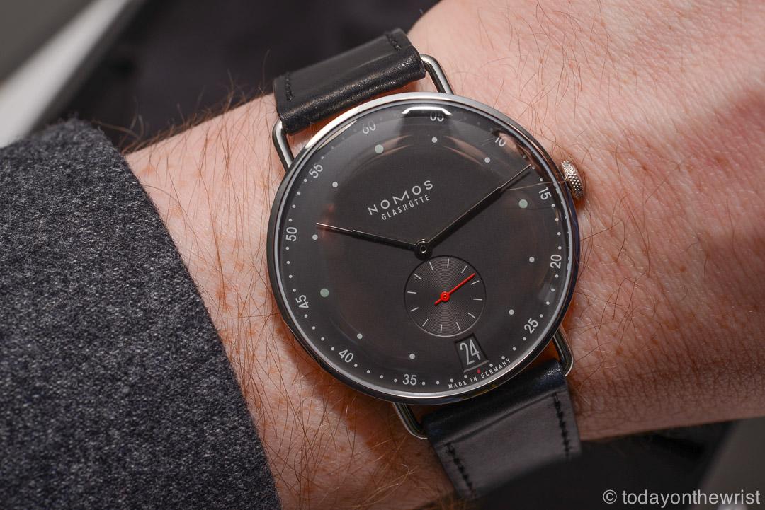 Любимые часы в Силиконовой Долине - Nomos Metro