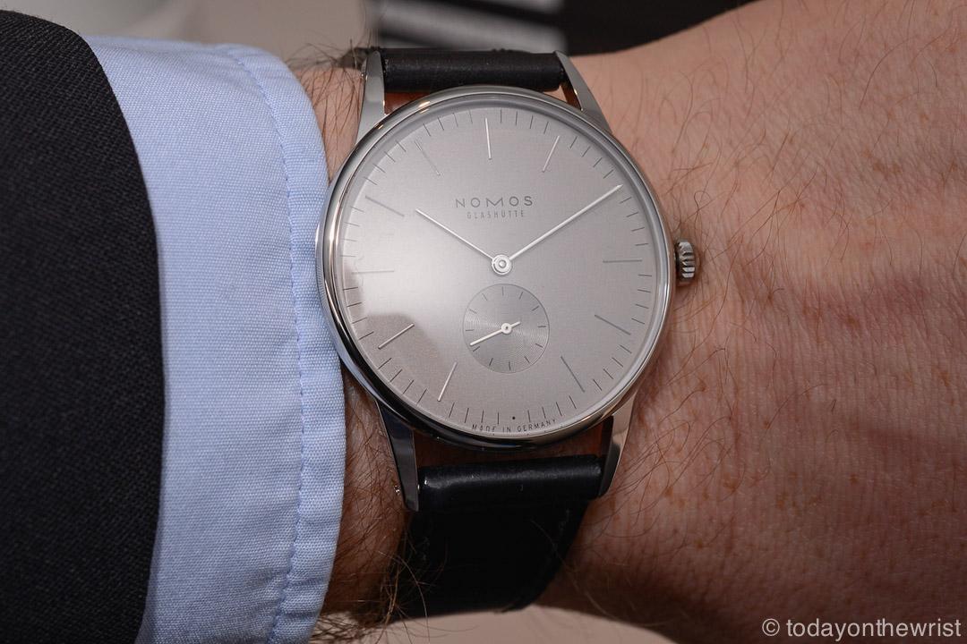 Любимые часы в Силиконовой Долине - Nomos Orion 38