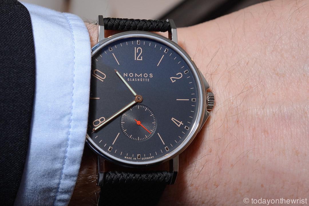 Любимые часы в Силиконовой Долине - Nomos Ahoi Atlantik