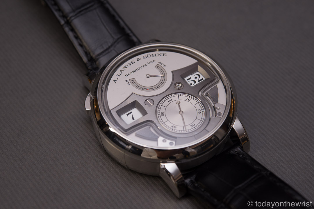 Любимые часы в Силиконовой Долине - Lange & Soehne Zeitwerk Minute Repeater