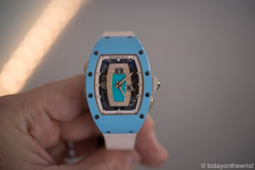 Женские часы Richard Mille RM037 Blue Ceramic & Red Gold