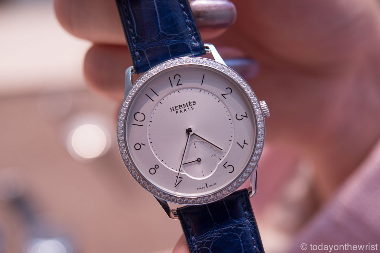 Женские часы Hermes Slim d'Hermes