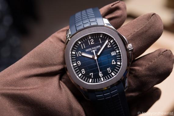 Patek Philippe Aquanaut 5168G - юбилейная версия