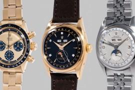 Рекорды часового аукциона The Geneva Watch Auction: FIVE