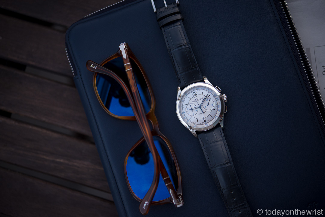 Jaeger-LeCoultre Master Chronograph Sector dial