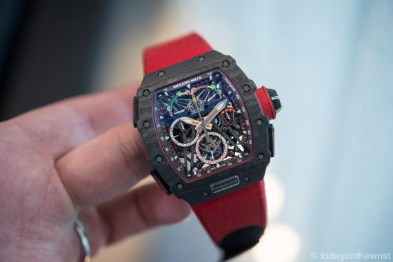 Richard Mille RM50-03 Tourbillon Split Seconds Chronograph Ultralight Mclaren F1
