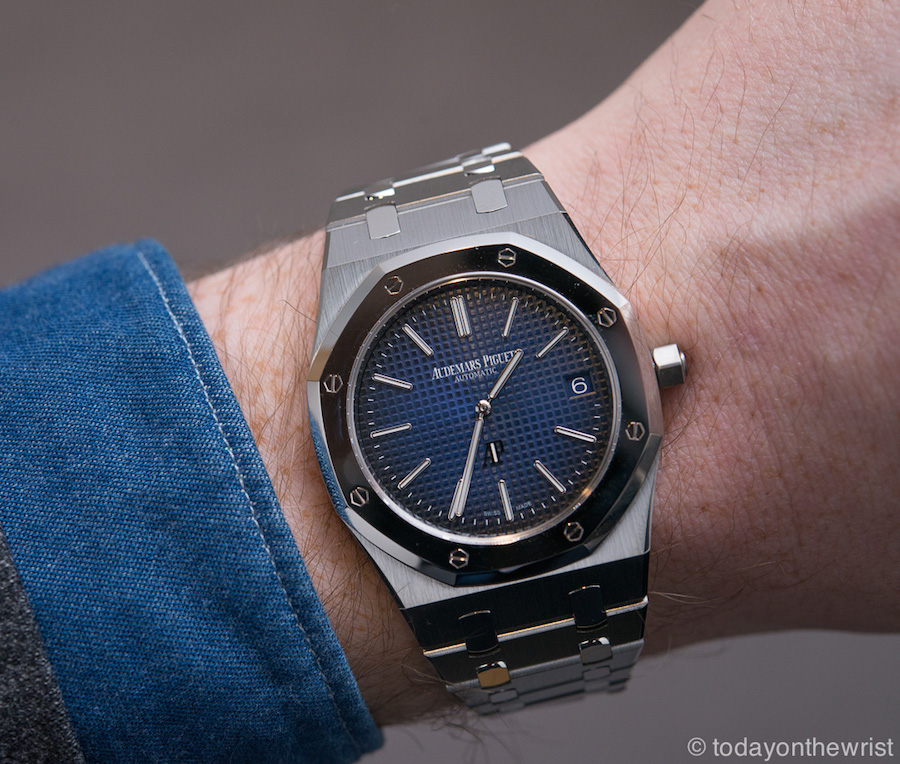 Audemars Piguet Royal Oak Jumbo Extra-Thin In Titanium And Platinum