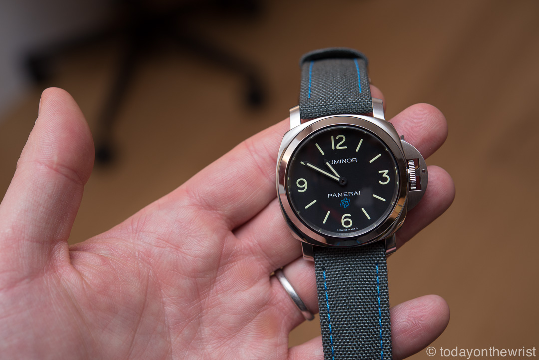 Panerai Luminor Base Logo 3 Days Acciaio - 44 mm