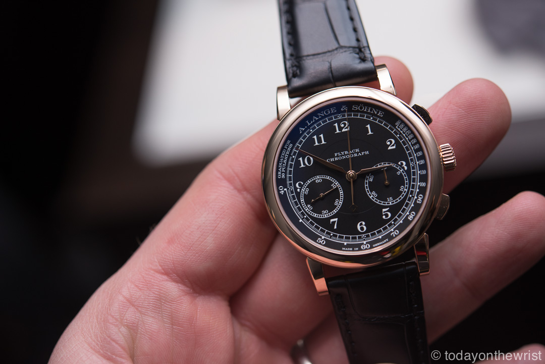A. Lange & Soehne 1815 Chronograph in pink gold
