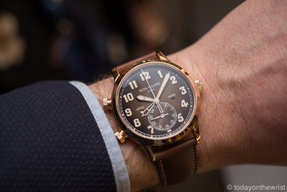 Patek Philippe Calatrava Pilot Travel Time 5524R