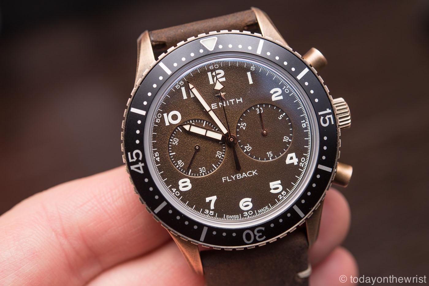 Zenith Pilot Chronometro Tipo CP-2 Flyback bronze