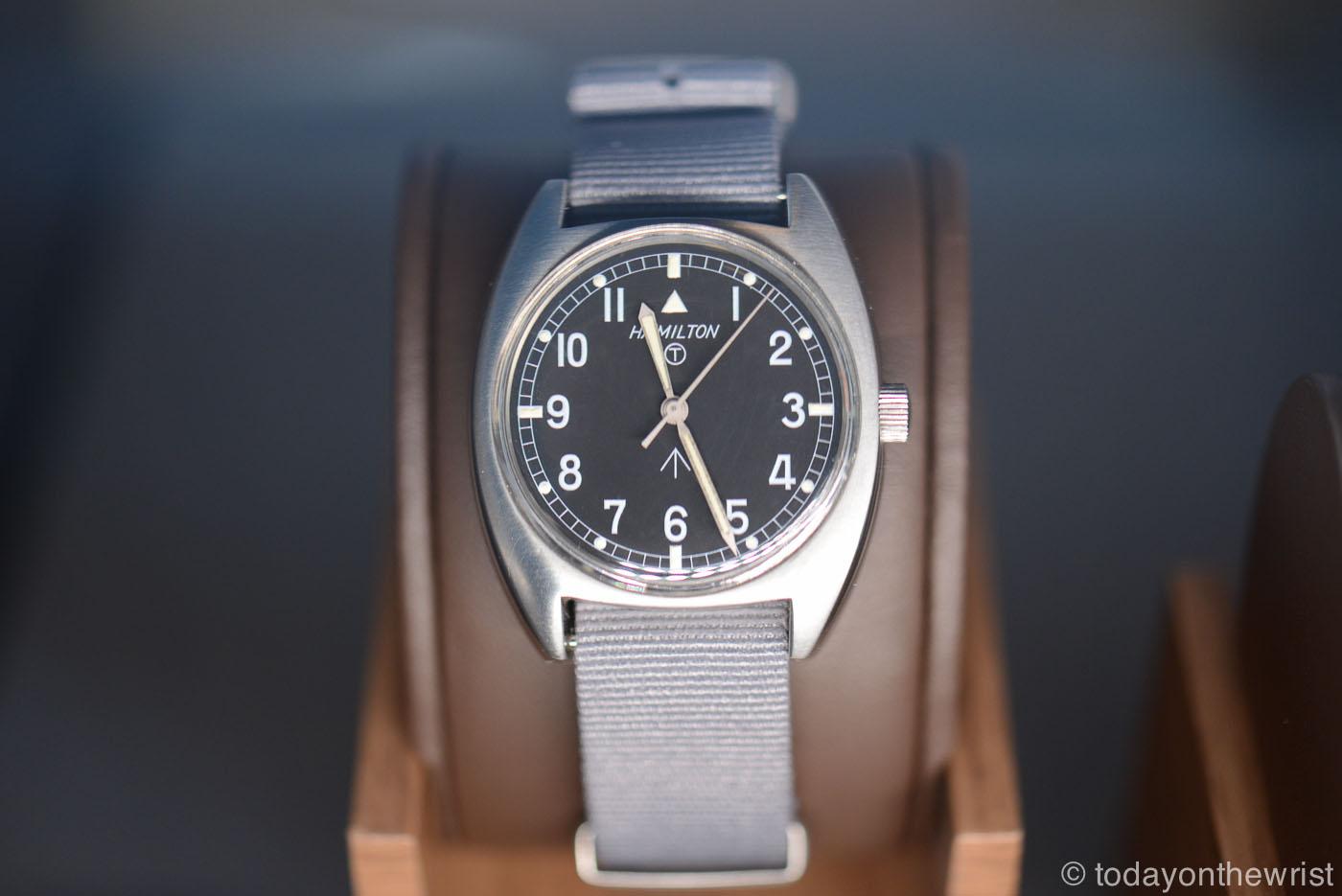 винтажные часы Hamilton