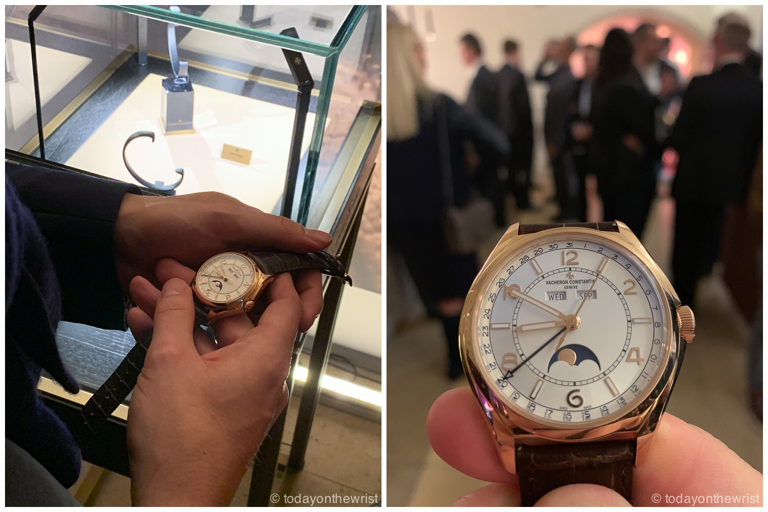 Vacheron Constantin Fiftysix party Мюнхен
