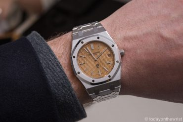 Audemars Piguet Royal Oak Jumbo Extra-Тhin 15202 в белом золоте