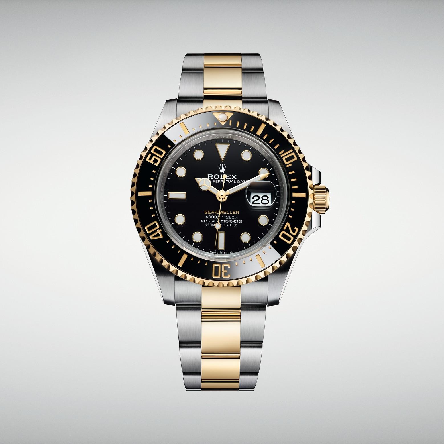 Rolex Sea-Dweller сталь-золото