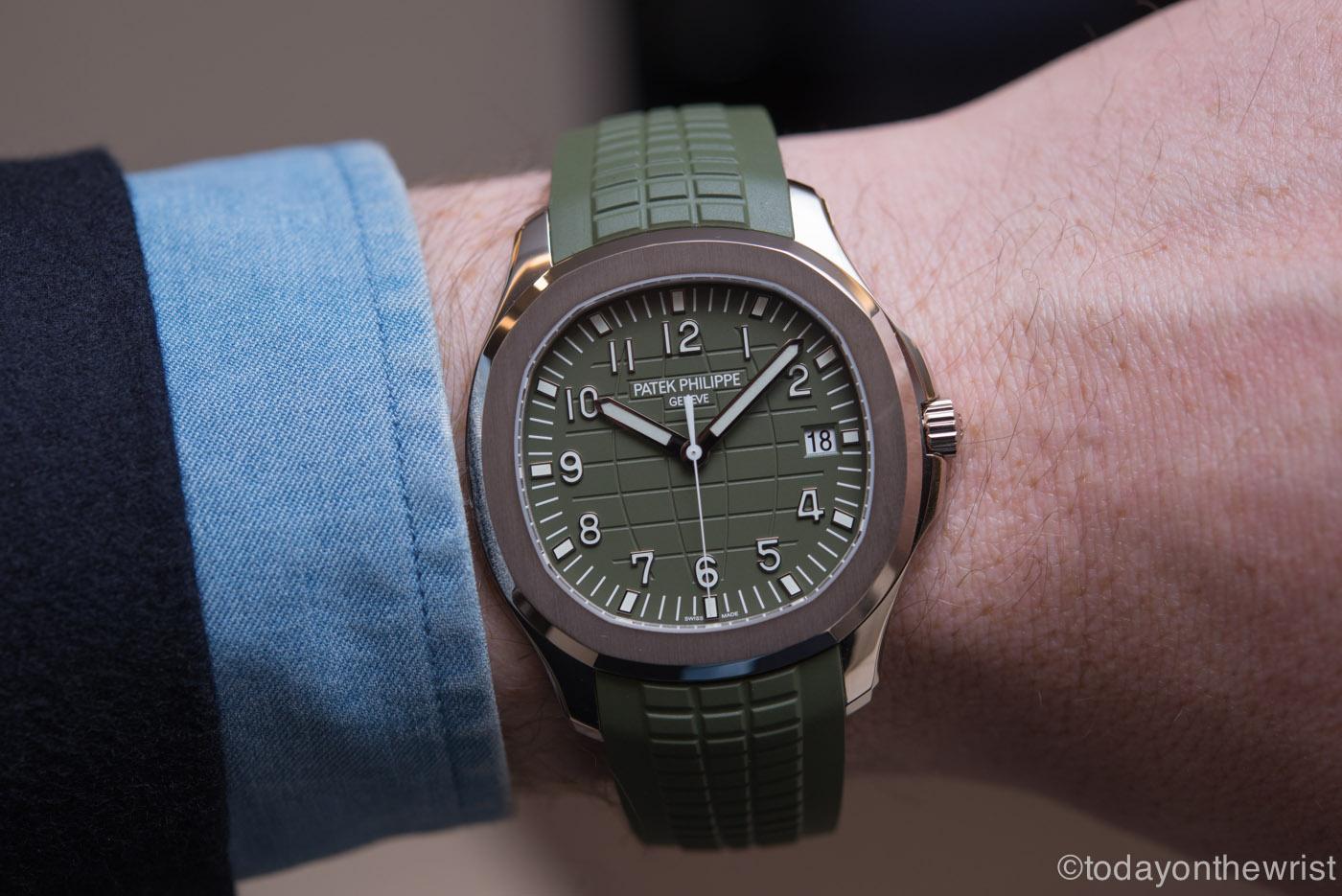 Patek Philippe Aquanaut 5168G Khaki green