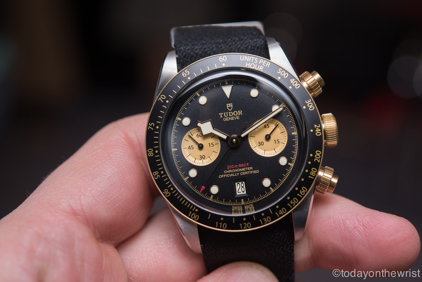 Tudor Black Bay Chrono S G