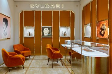 В Москве открылся первый часовой бутик BVLGARI