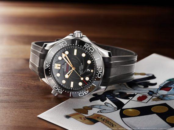 Новые Omega Seamaster Diver 300M James Bond Limited Edition
