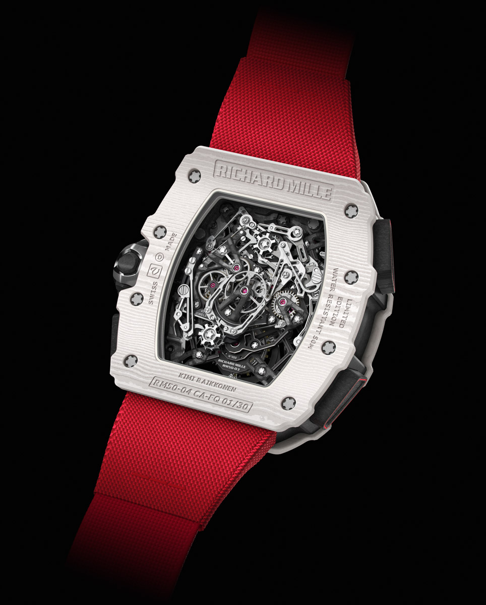 Richard Mille RM 50-04 Tourbillon Split-Seconds Chronograph Kimi Raikkonen