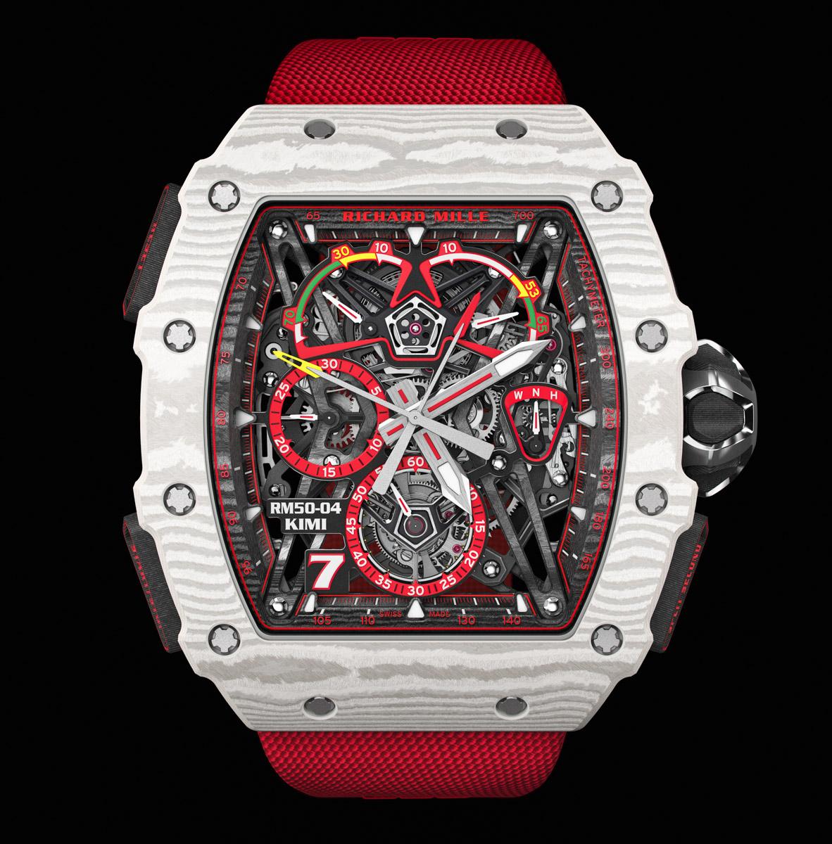 Richard Mille RM 50-04 Tourbillon Split-Seconds Chronograph Kimi Raikkonen