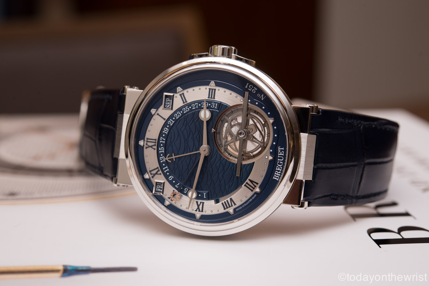 Breguet Marine Tourbillon Equation Marchante 5887