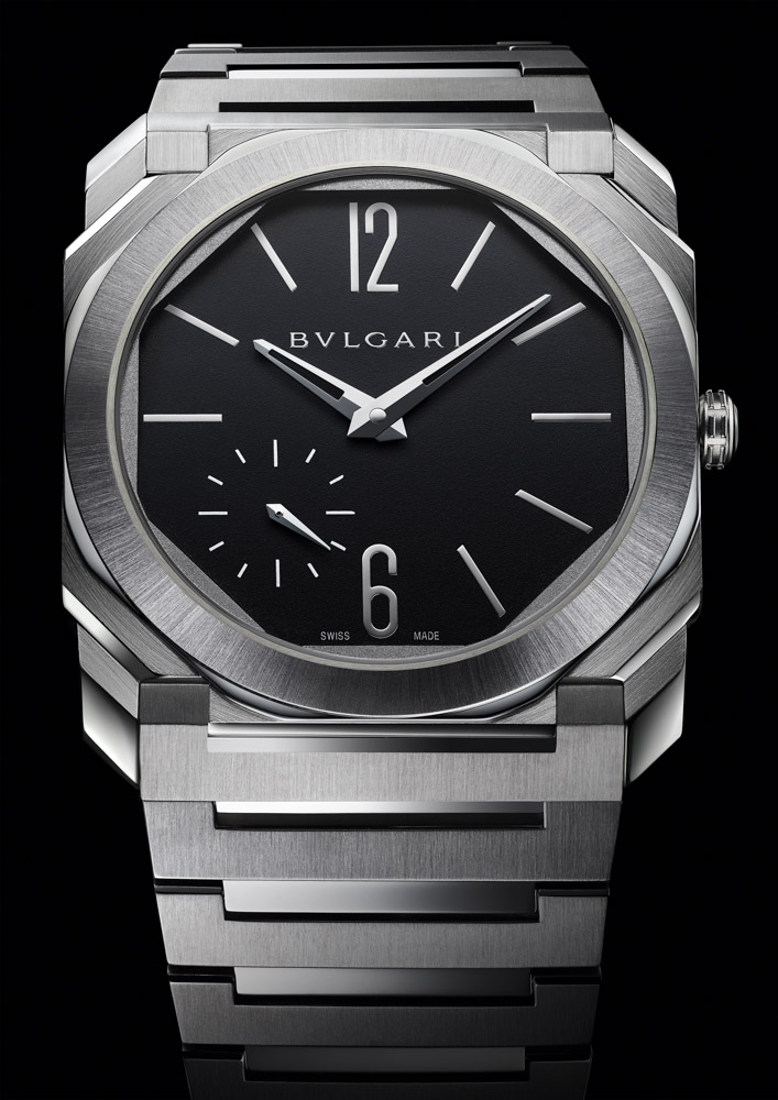 BVLGARI OCTO FINISSIMO AUTOMATIC SATIN-POLISHED STEEL 103297