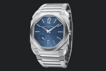 Bvlgari Octo Finissimo Automatic Steel с синим циферблатом