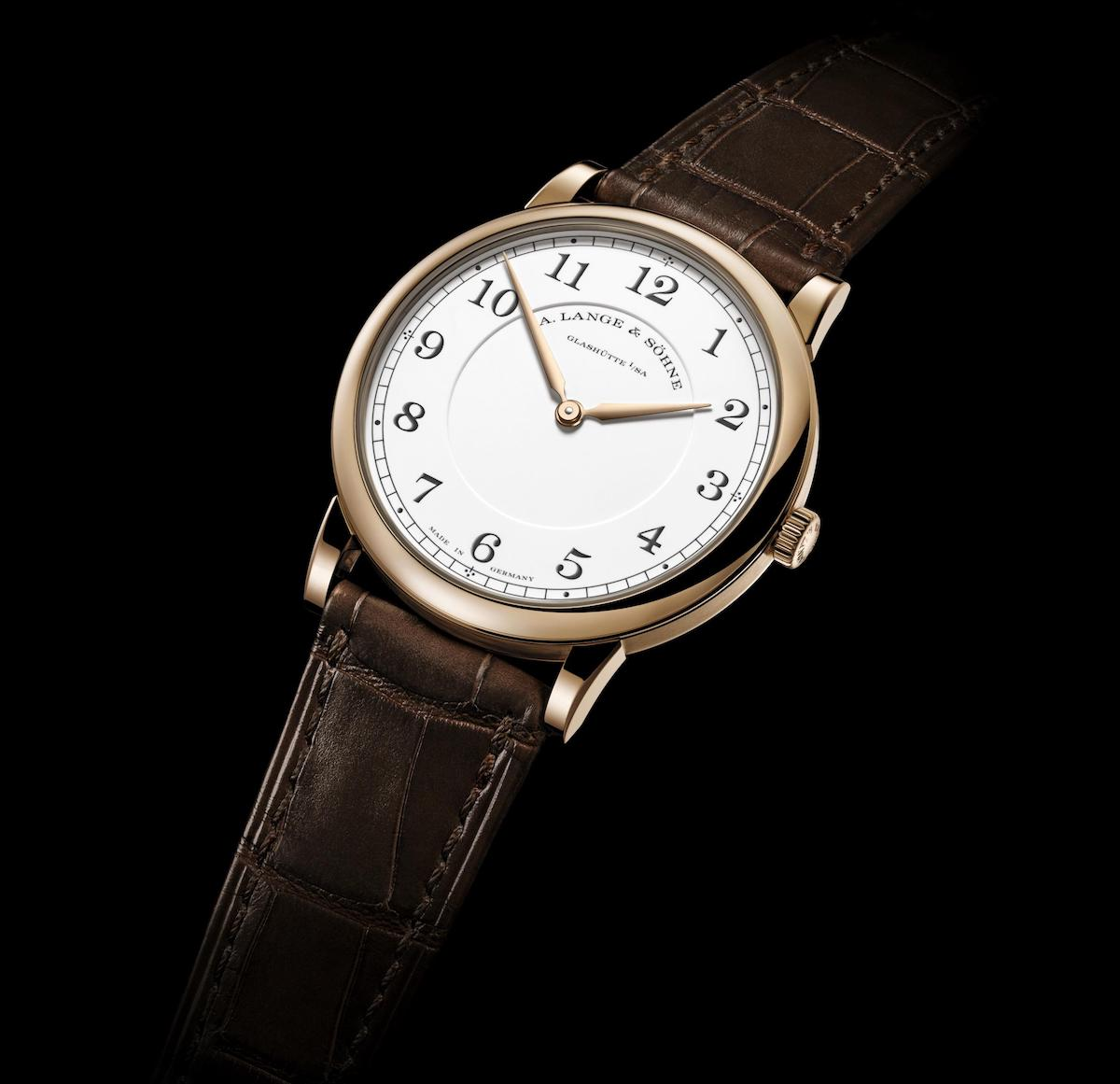 A. Lange & Soehne 1815 THIN HONEYGOLD Homage to F. A. Lange