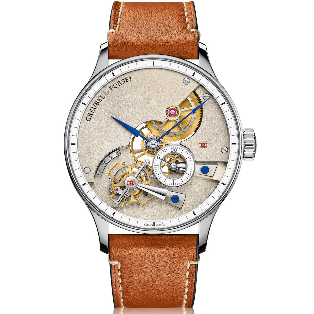 лучшие мужские часы с усложнением - Greubel Forsey Hand Made 1
