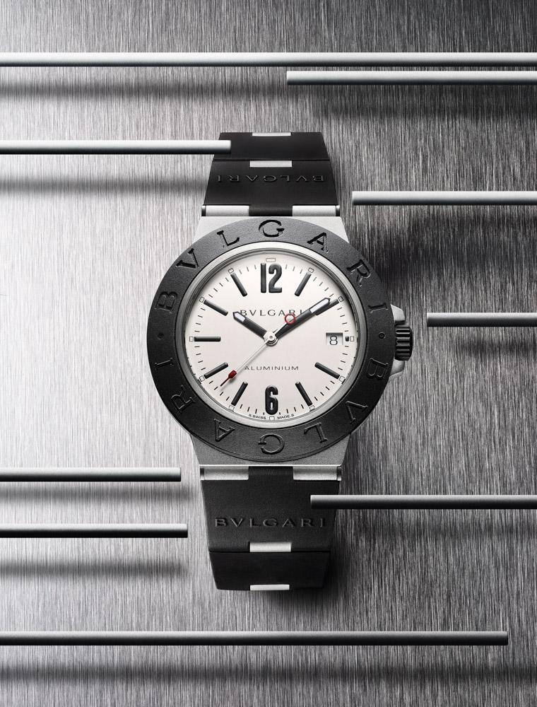 Bvlgari Aluminium watch