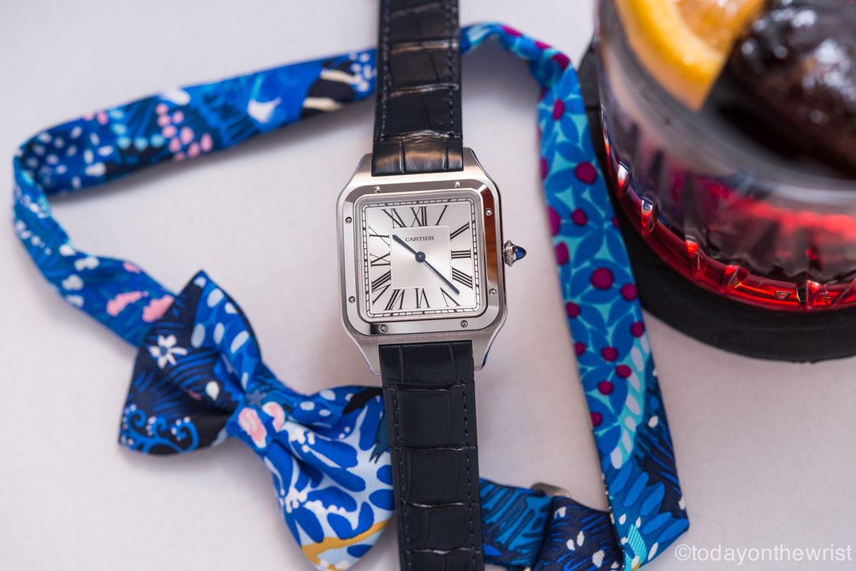 Cartier Santos-Dumont XL x Negroni х Hermes