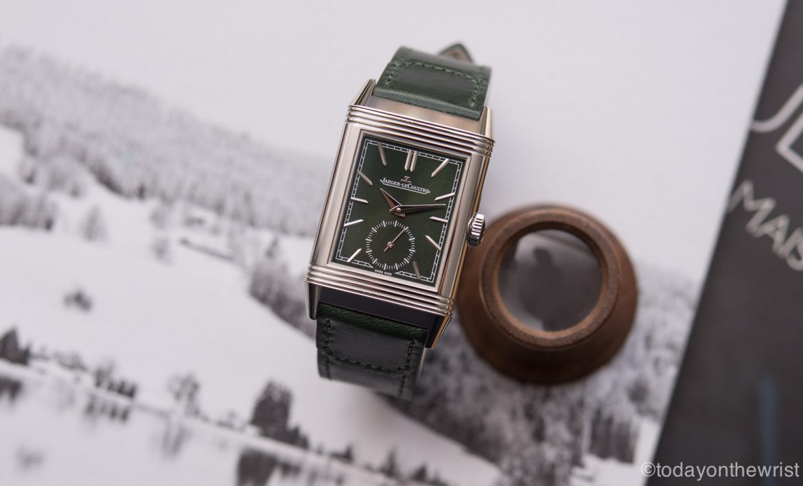 Jaeger-LeCoultre Reverso Tribute Small Seconds Green
